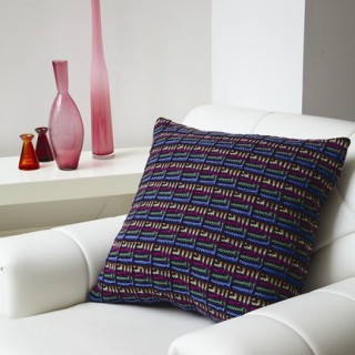 Triangle Squares Cushion