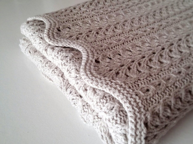 Shale Baby Blanket